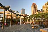Battery Park trouve son origine dès 1625.