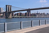 Le Brooklyn Bridge Park se trouve juste au pied du pont de Brooklyn.
