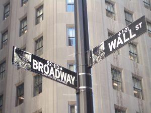 Broadway et Wall Street