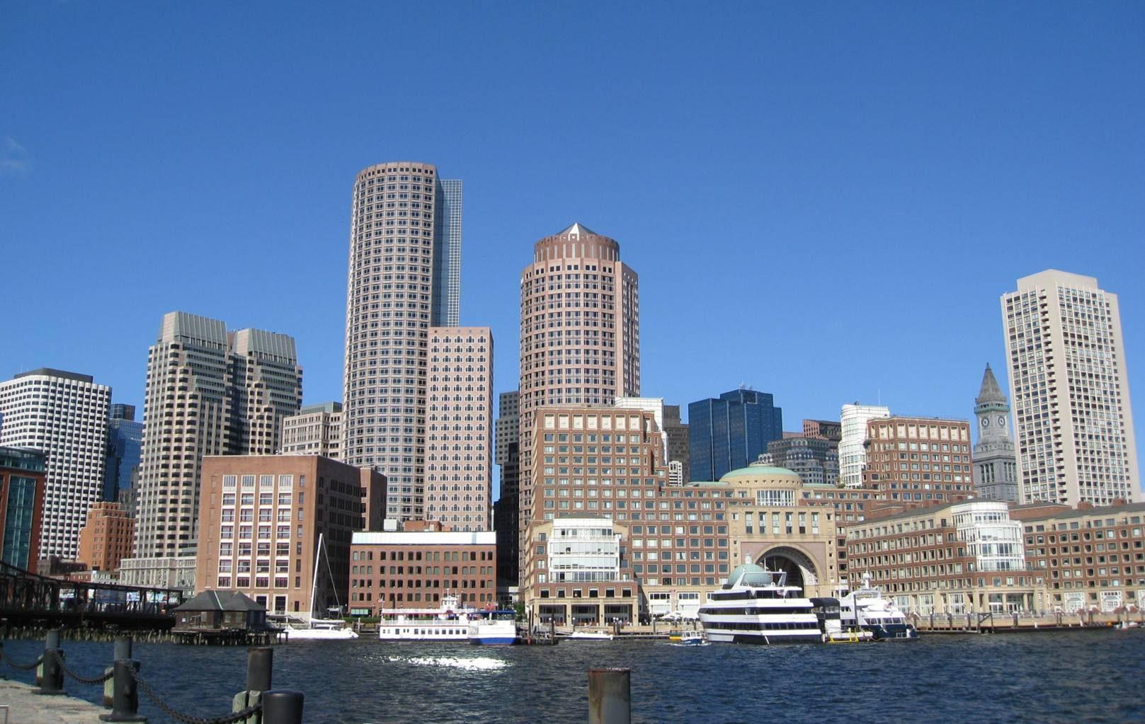 La skyline di Boston