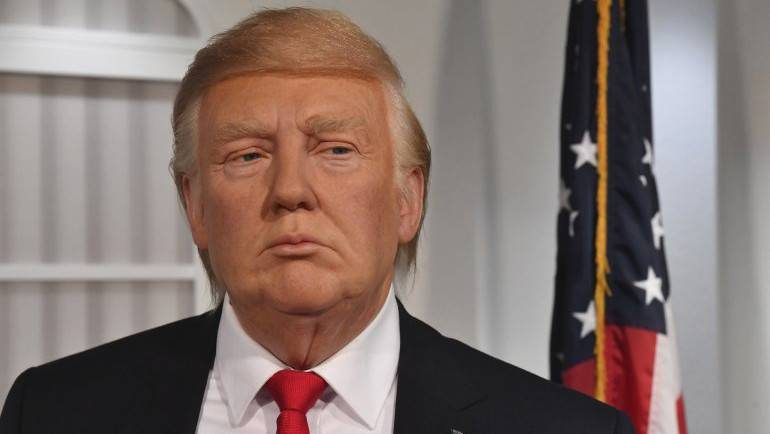 Donald Trump al Madame Tussauds