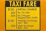 I taxi a New York