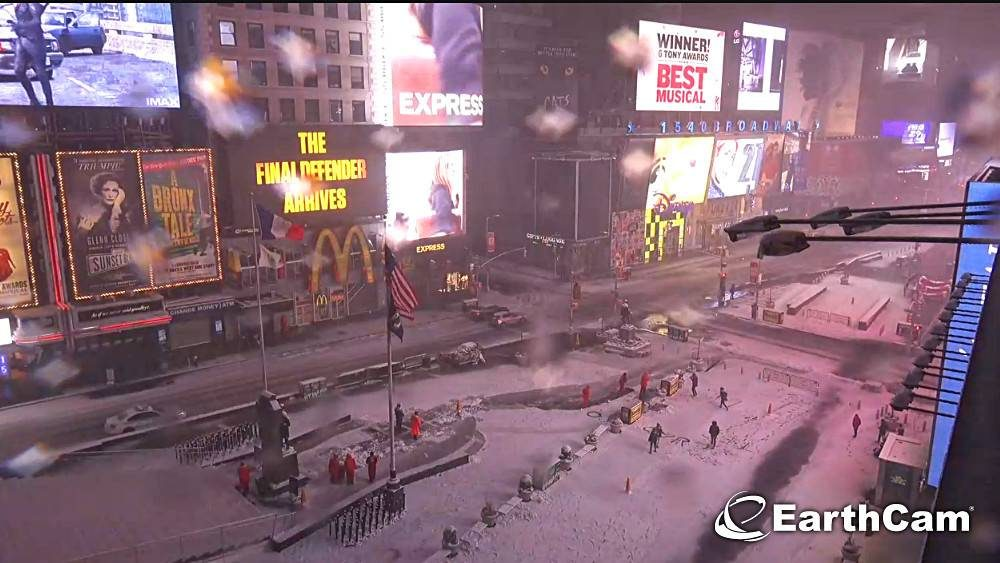times square neve