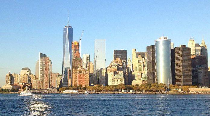 manhattan skyline new york